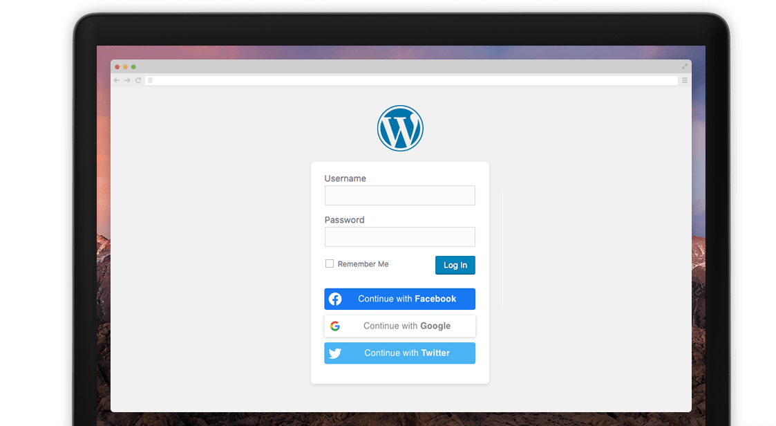 Nextend Social Login Header