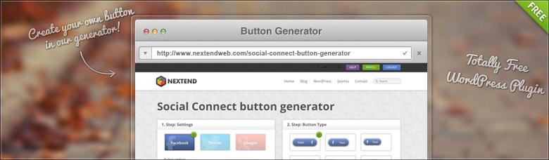 Social button generator
