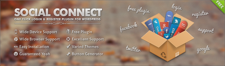 Social connect WordPress plugins