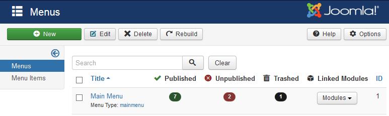 Count items in Joomla