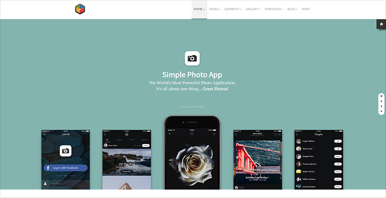 Monstroid WordPress theme with Smart Slider 3