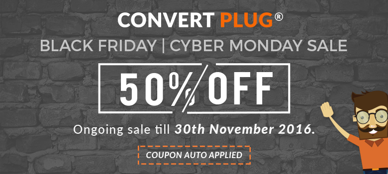 ConvertPlug Black Friday deal