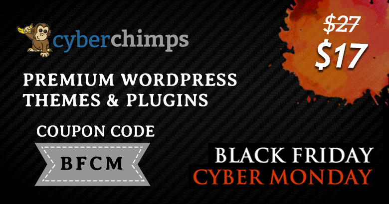 Cyberchimp Black Friday