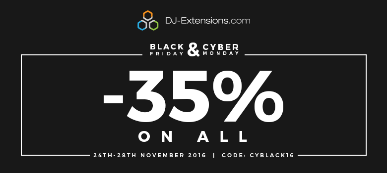 DJ-Extensions Black Friday deal