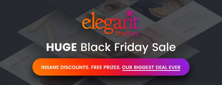 Elegant Themes Black Friday deal