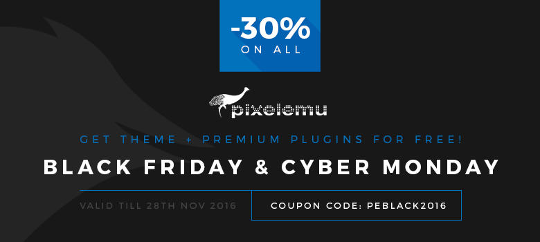Pixelemu Black Friday deal