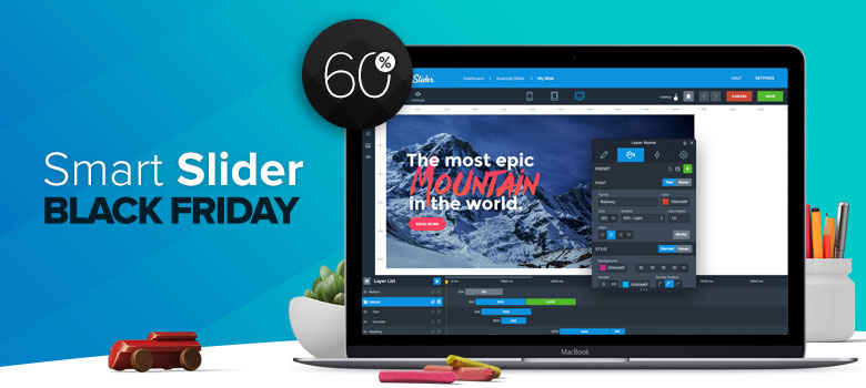 Smart Slider 3 Black Friday