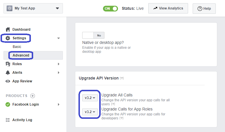 FB API Call upgrade srcset=