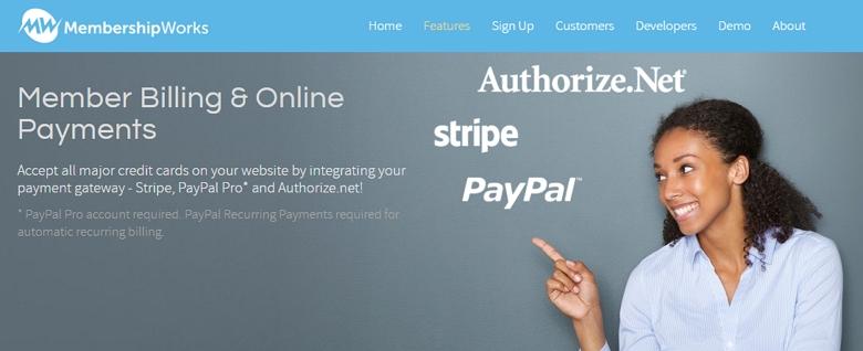 payment at membershipworks